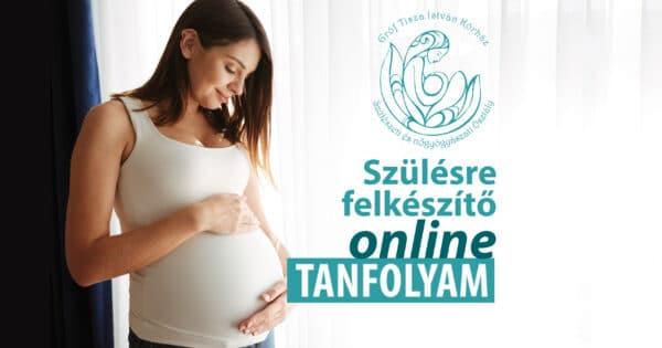 Szülésre felkészítő online tanfolyam