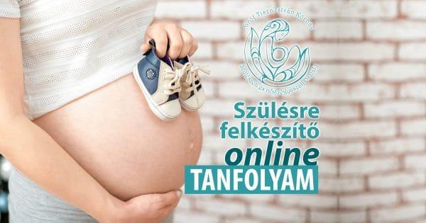 Szülésre felkészítő online tanfolyam - 2021. október